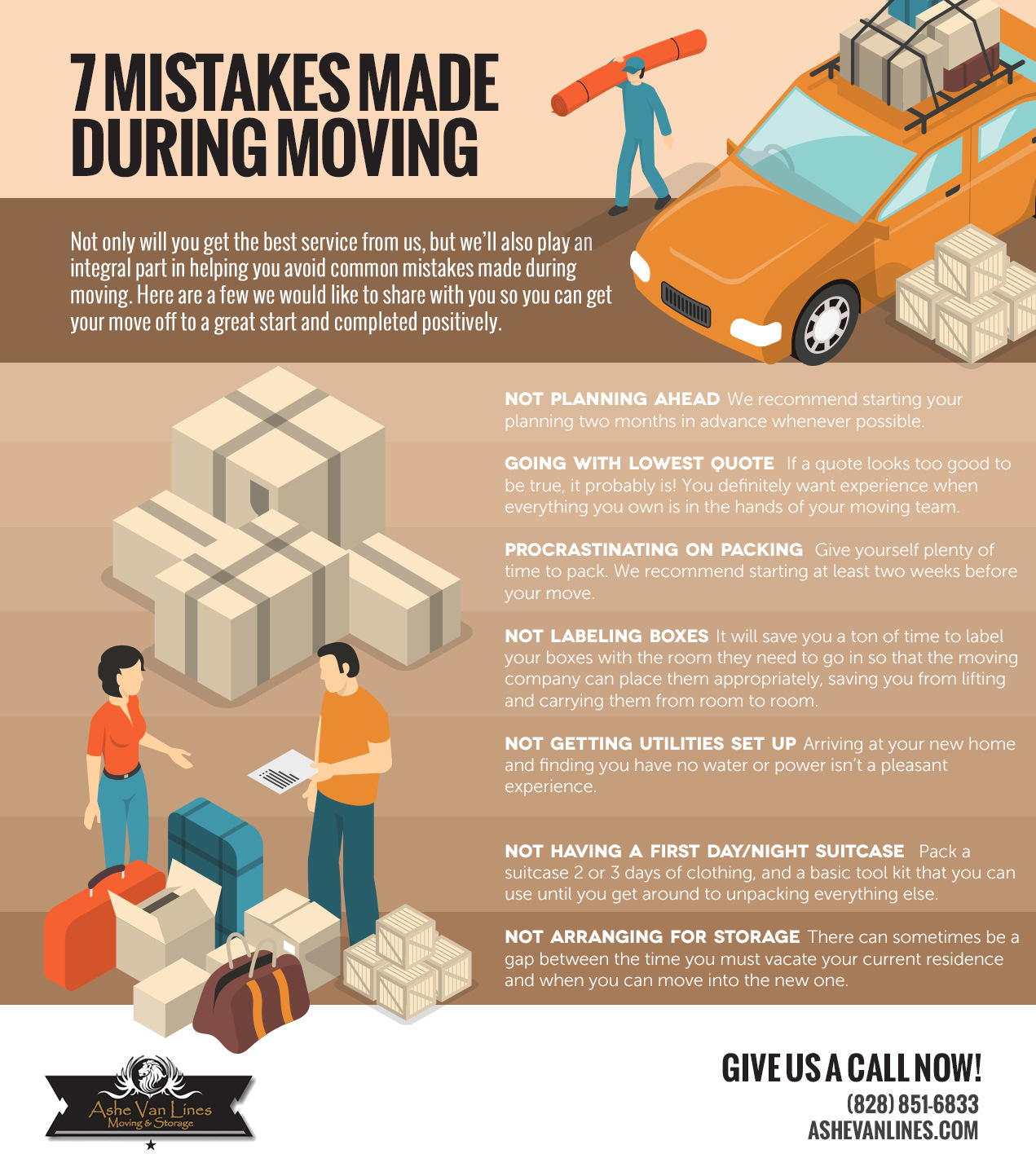 7 mistakes made during moving