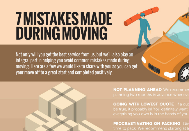7 Mistakes Made During Moving [infographic]